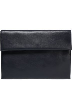 MARNI Leather envelope clutch