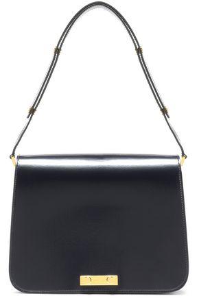 MARNI Glossed-leather shoulder bag
