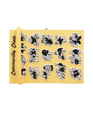Купить Сумку на руку от OLYMPIA LE-TAN желтого цвета