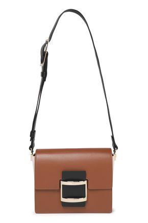 ROGER VIVIER Color-block leather shoulder bag