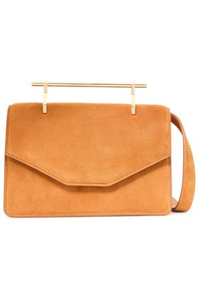 M2MALLETIER Suede shoulder bag