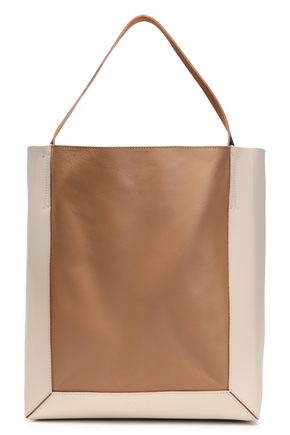 MARNI Two-tone leather tote