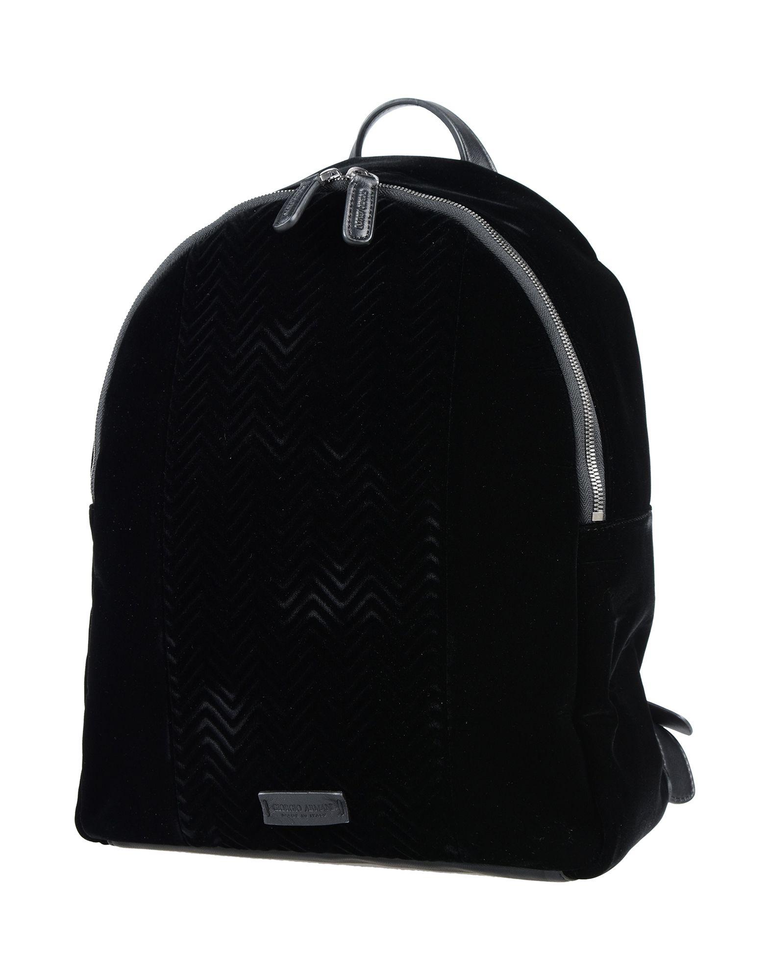 GIORGIO ARMANI Рюкзаки и сумки на пояс