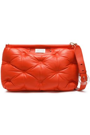 MAISON MARGIELA Quilted leather clutch
