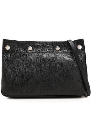 RAG & BONE Studded pebbled-leather shoulder bag