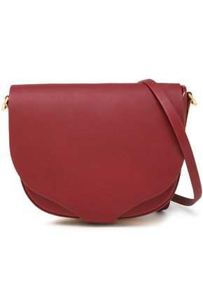SOPHIE HULME Barnsbury medium leather shoulder bag