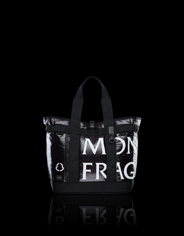 HANDBAG Black Bags Man