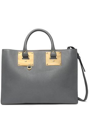 SOPHIE HULME Albion East West textured-leather tote