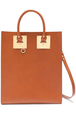 SOPHIE HULME Albion matte-leather tote