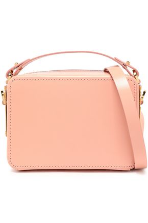 SOPHIE HULME The Mini Trunk leather shoulder bag