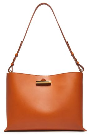 SOPHIE HULME The Pinch medium matte-leather shoulder bag