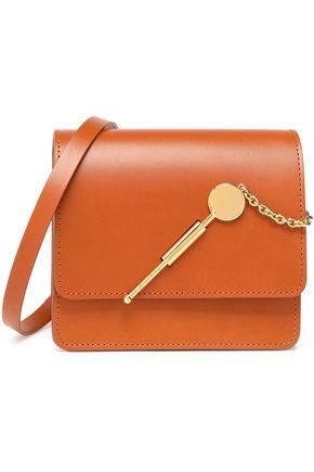 SOPHIE HULME Cocktail Stirrer small matte-leather shoulder bag