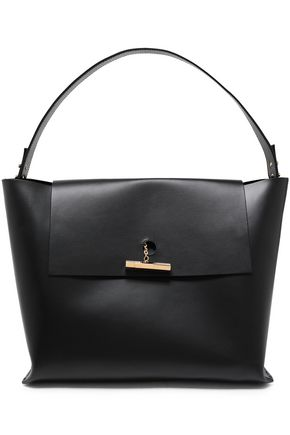SOPHIE HULME The Pinch matte-leather shoulder bag