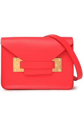 SOPHIE HULME Milner mini matte-leather shoulder bag
