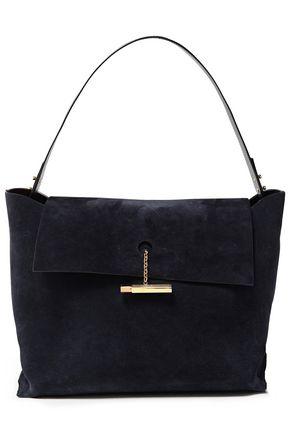 SOPHIE HULME The Pinch suede shoulder bag