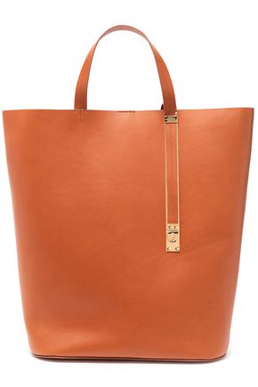 SOPHIE HULME The Exchange North South レザー トートバッグ