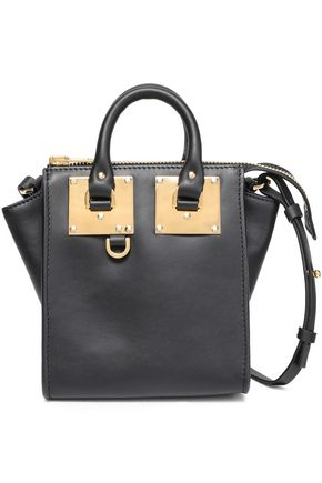 SOPHIE HULME Holmes North South leather shoulder bag