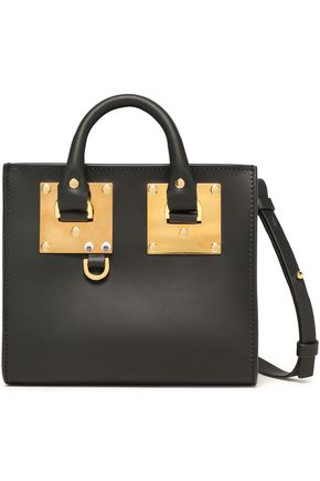 SOPHIE HULME Albion Box matte-leather shoulder bag