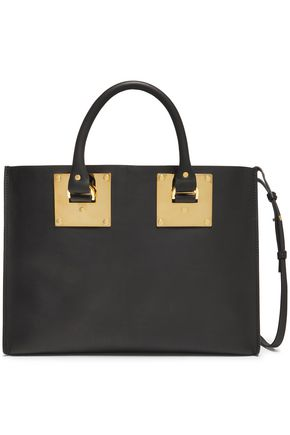 SOPHIE HULME Albion East West matte-leather shoulder bag