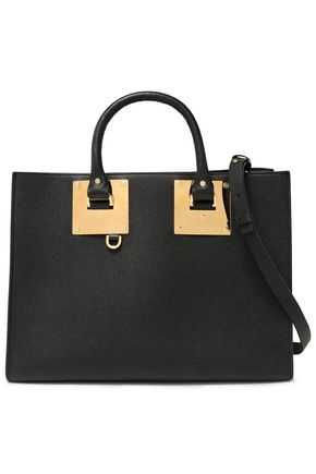 SOPHIE HULME Albion East West pebbled-leather tote