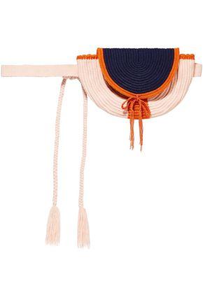 SOPHIE ANDERSON Cara woven belt bag