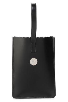KARA Leather clutch