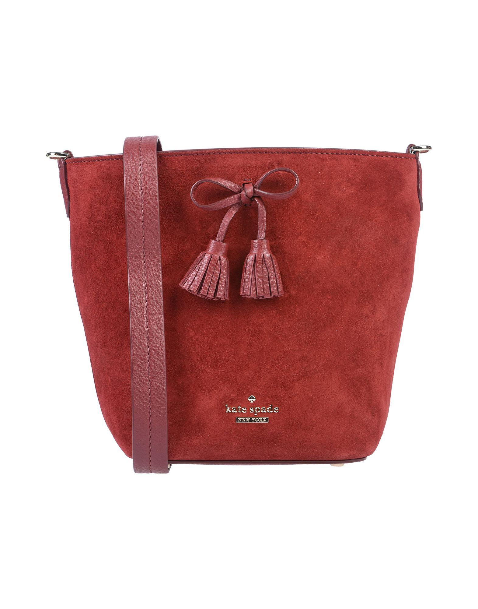 KATE SPADE New York Сумка через плечо женская кожаная сумка kate spade natalia leather crossbody cherry