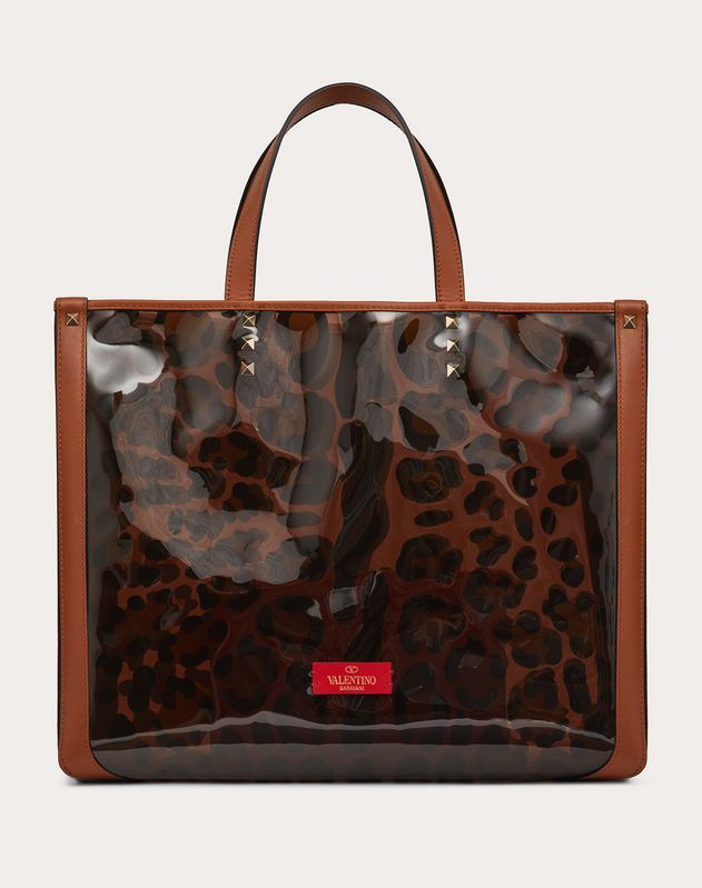 Small Leopard Print Tote Bag