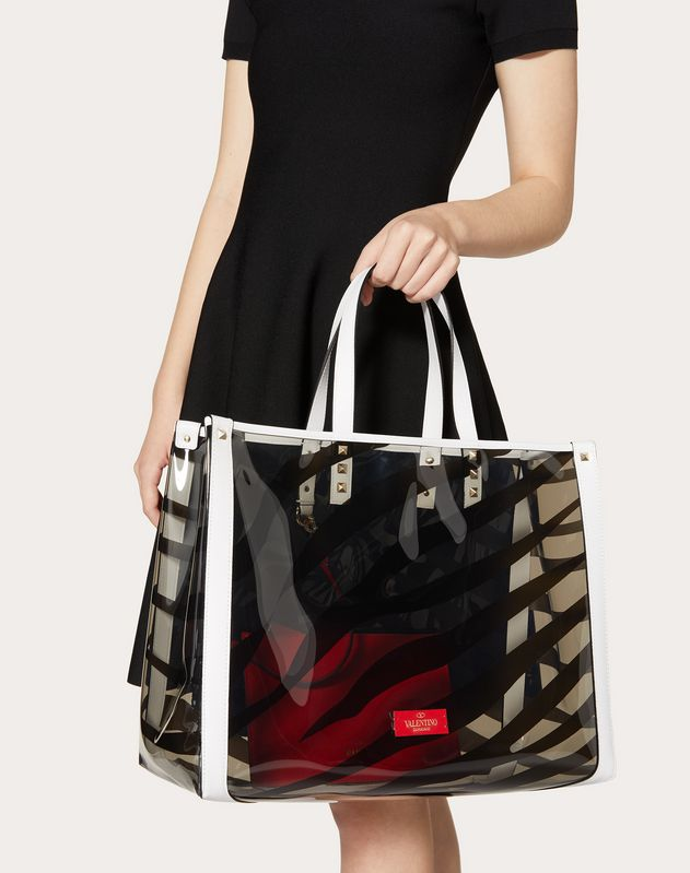 Small Zebra Print Tote Bag