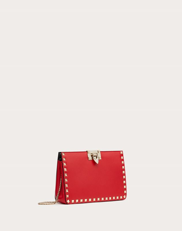 Clutch Rockstud in Vitello