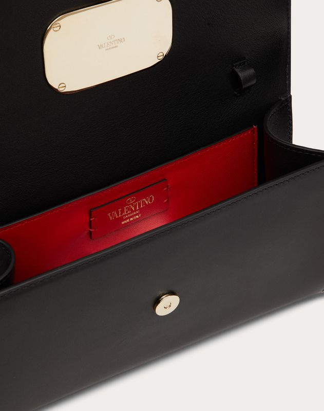 VCASE Glossy Calfskin Clutch