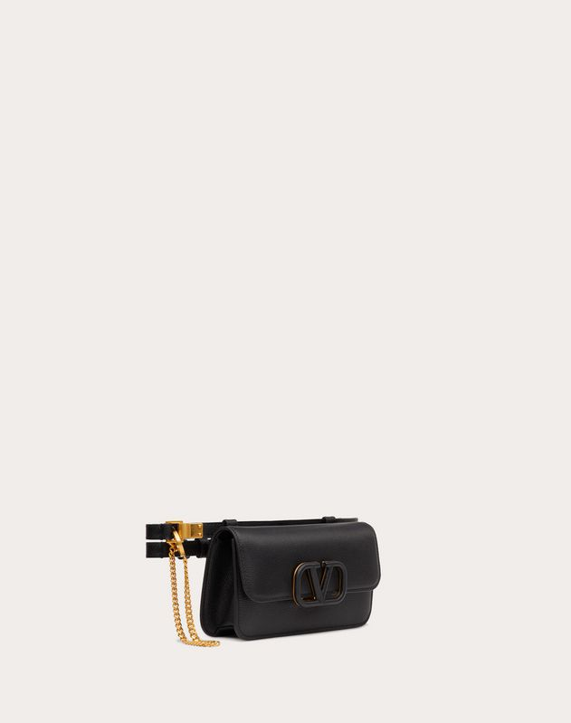 VSLING Grainy Calfskin Belt Bag