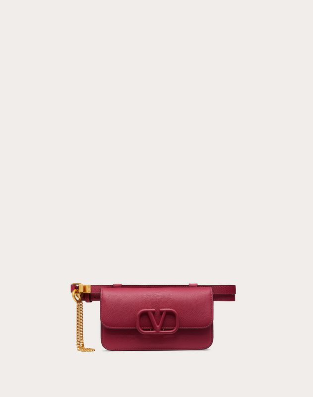 VSLING Grainy Calfskin Belt Bag