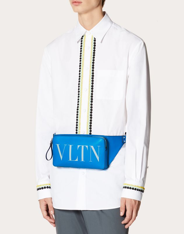 VLTN Fluorescent Leather Belt Bag