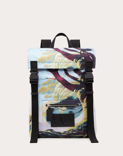 Floating Island Nylon Backpack