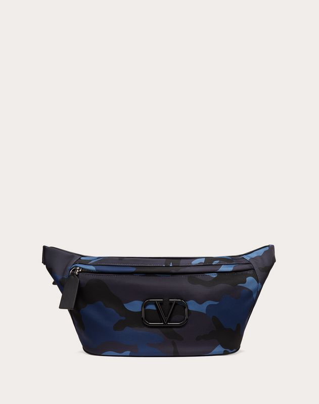 Camouflage Nylon Belt Bag