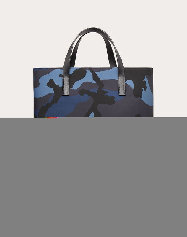 Camouflage Nylon Tote Bag