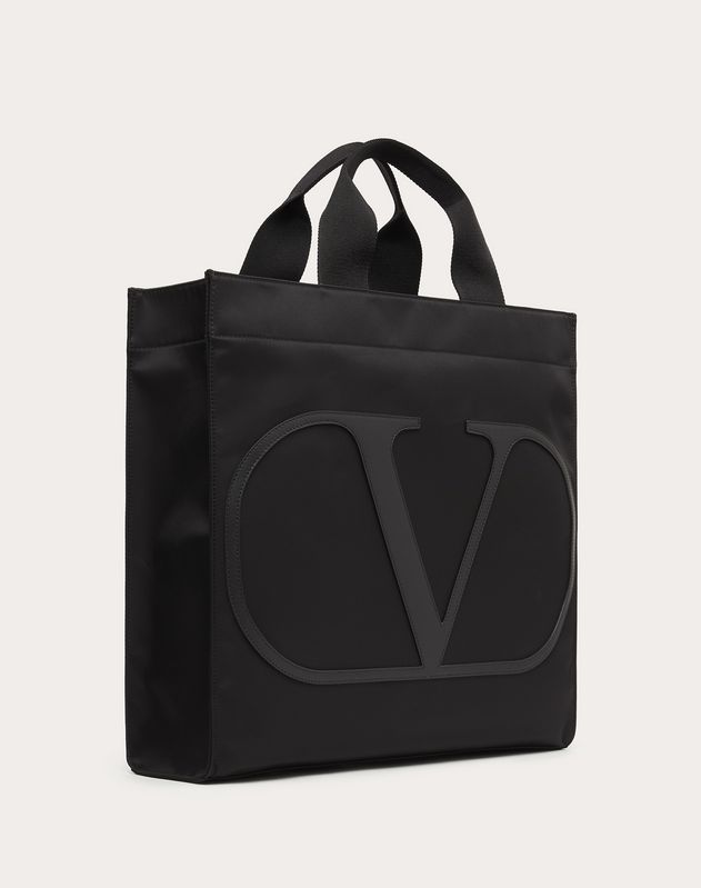 Borsa Shopping VLogo in Nylon