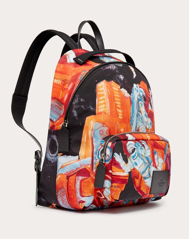 Infinite City Nylon Backpack