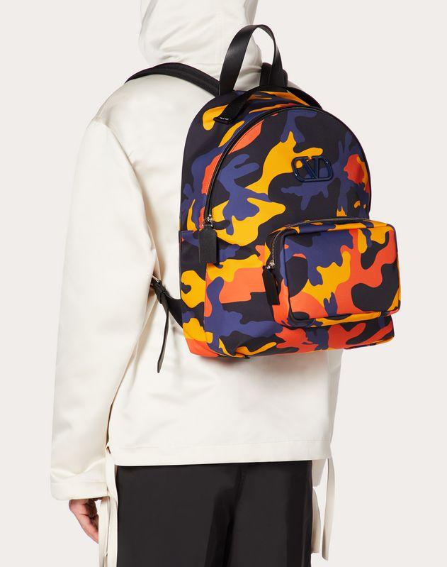 Камуфляжный рюкзак из нейлона