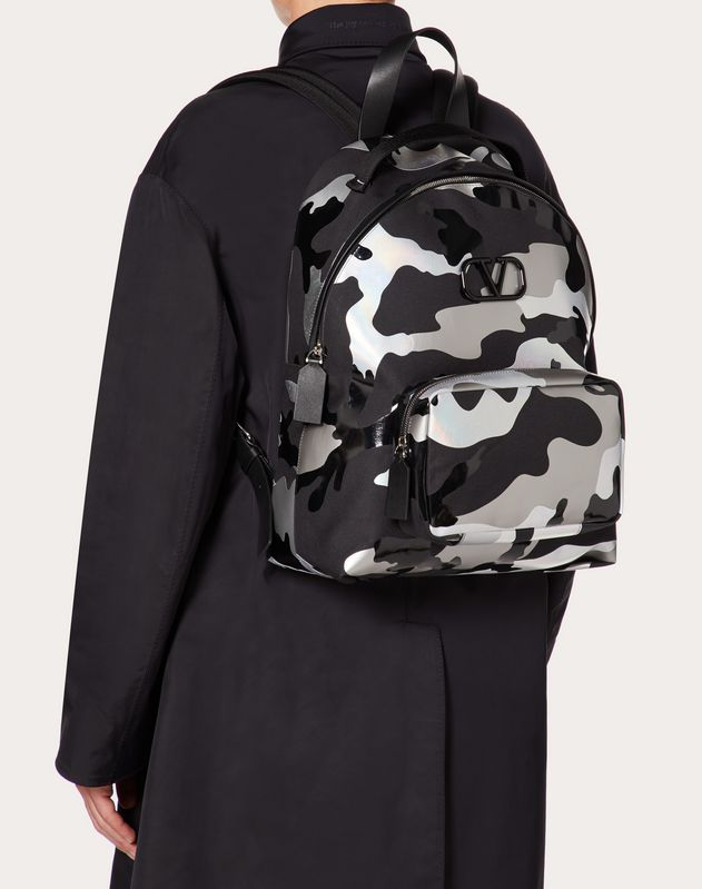 Camouspace Fabric Backpack