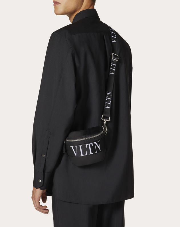 Nylon Belt Bag with VLTN Straps