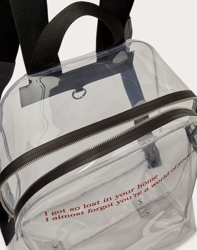 VLTN Transparent Backpack