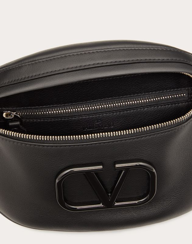 Small VLOGO Nappa Calfskin Belt Bag