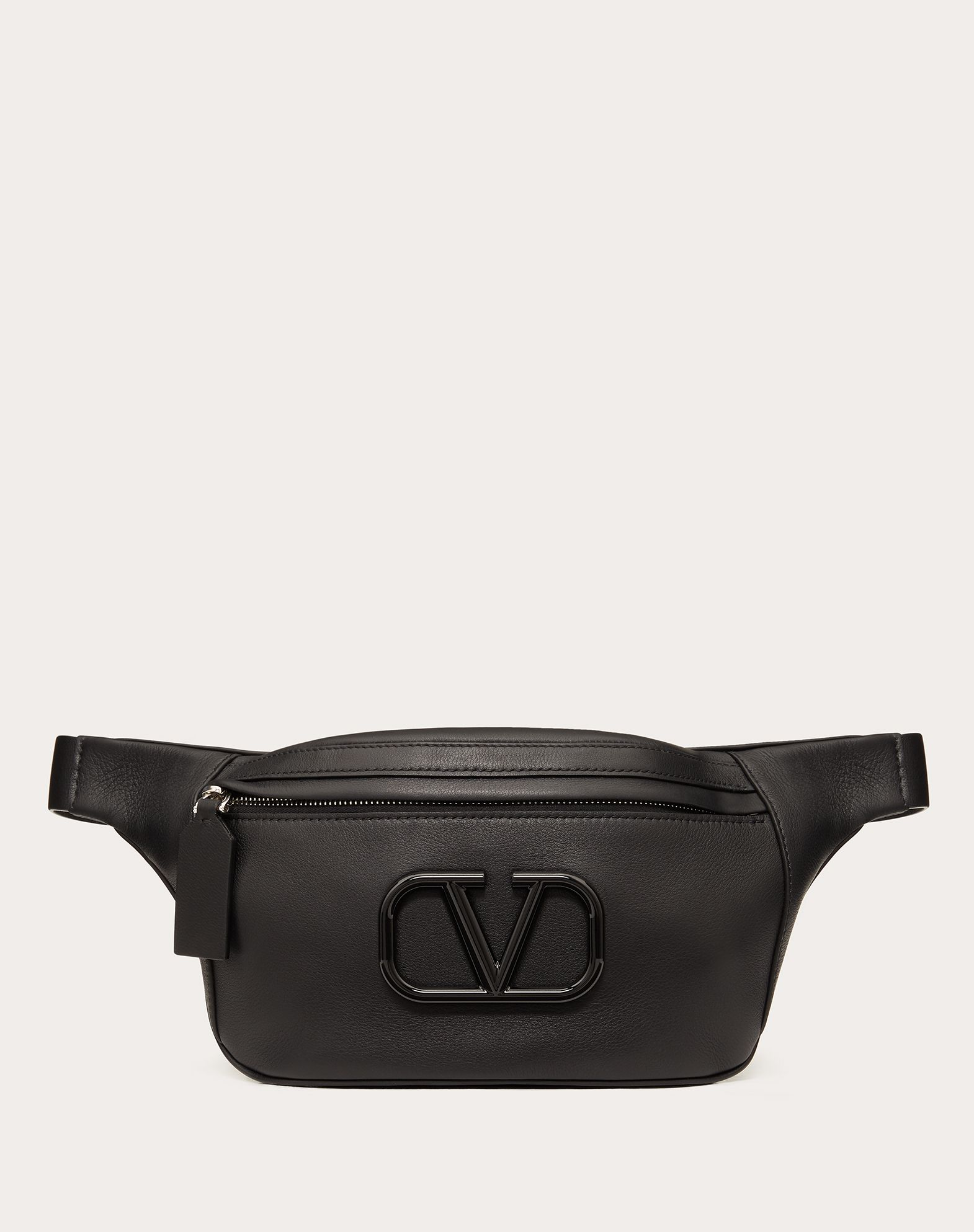 Small VLOGO Nappa Calfskin Belt Bag