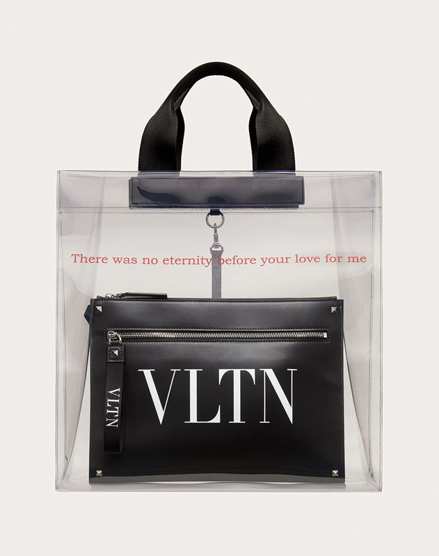 Transparenter Shopper VLTN