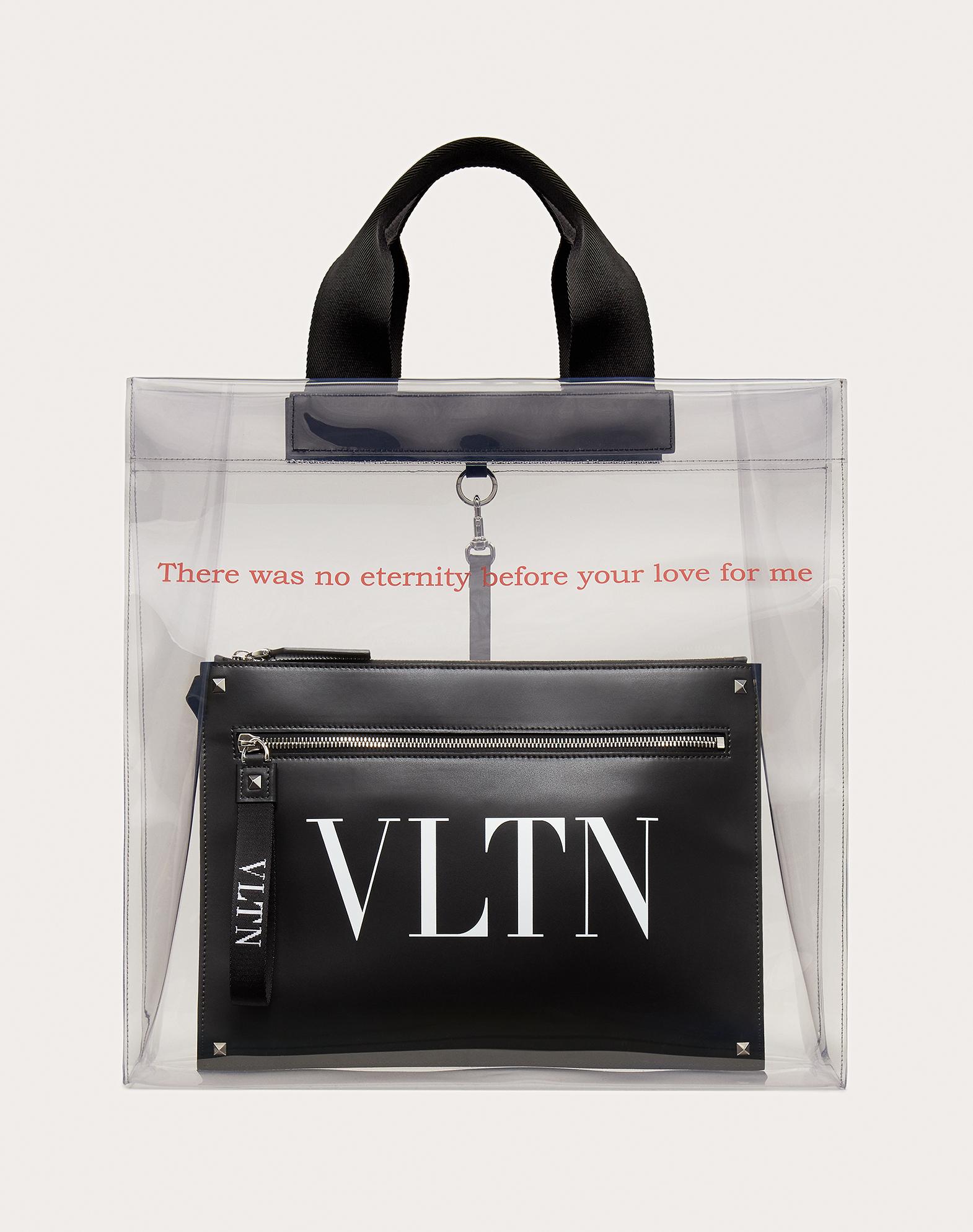 VLTN Transparent Tote Bag