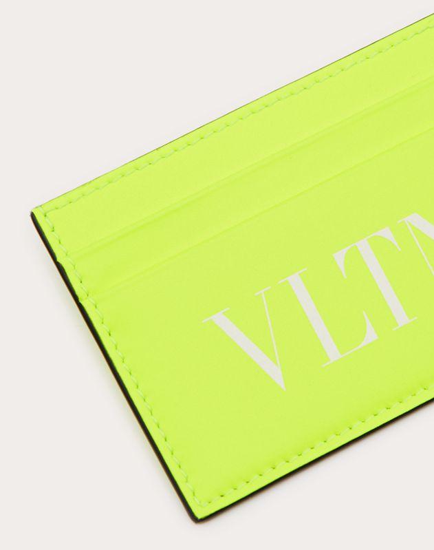 형광 VLTN 포켓 사이즈 카드 케이스