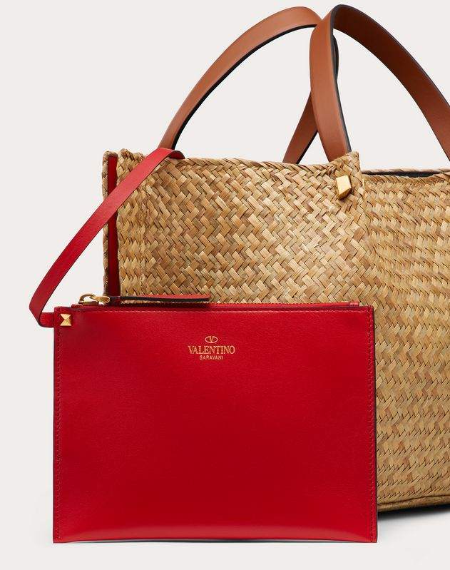 Straw VLOGO Escape Tote Bag