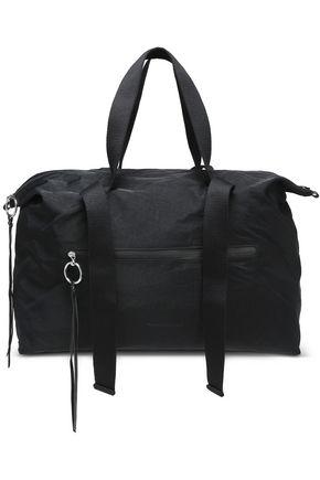 REBECCA MINKOFF Crinkled twill weekend bag